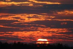 sun-setting